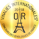 Les vinalies internationales or 2018