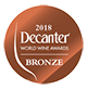 Decanter bronze 2018