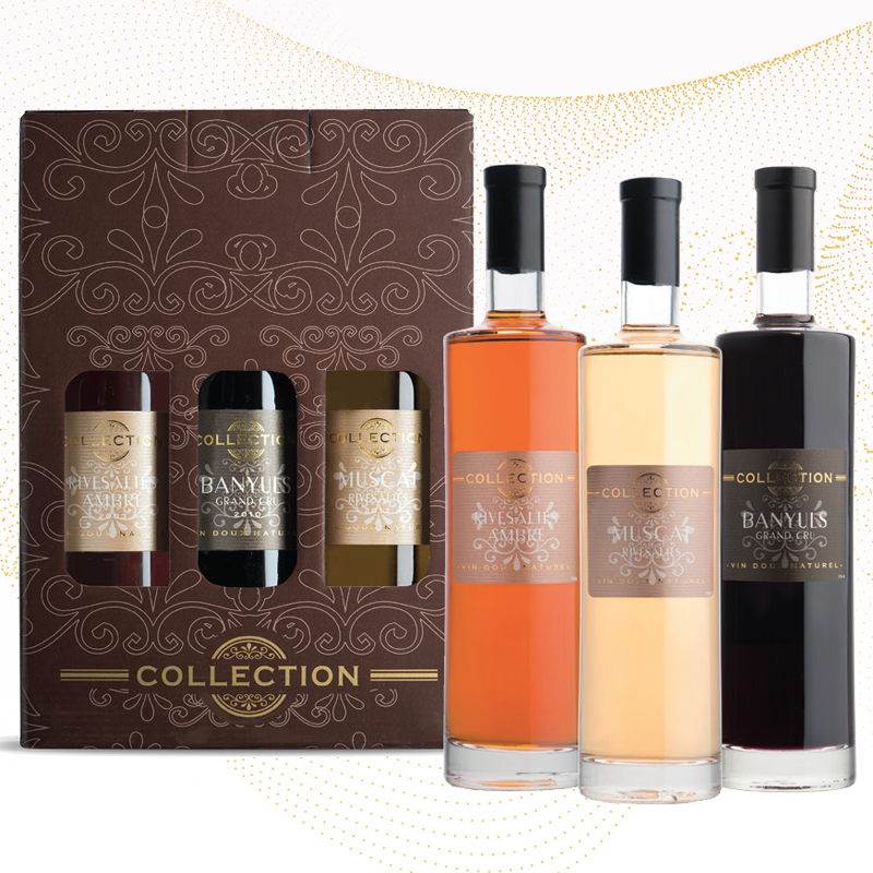 Coffret de noel Vins du roussillon Collection Vin